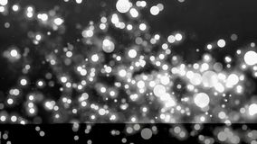 Background with nice black and white bokeh. Abstract Background with nice black and white bokeh Stock Images