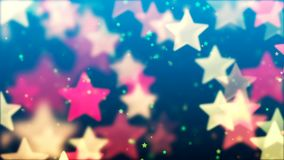 Flying Stars, Abstract Background. Abstract Background with nice flying stars Stock Photo