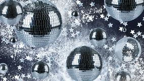 Disco balls background Royalty Free Stock Photo