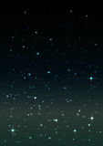 Abstract background.Night sky with stars. Stock Images