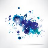 Abstract background notes and splatter. This is file of EPS10 format Stock Photos