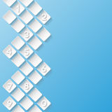Abstract background with numbers Royalty Free Stock Image