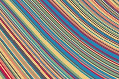 Abstract background with oblique wavy lines. Vector illustration. Colorful rainbow color stock illustration