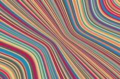 Abstract background with oblique wavy lines. Vector illustration. Colorful rainbow color Royalty Free Illustration