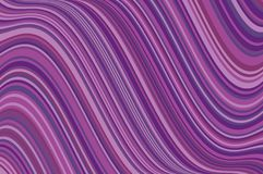 Abstract background with oblique wavy lines. Vector illustration. Different shades of purple, violet color. Abstract background with oblique wavy lines. Vector Royalty Free Stock Photo
