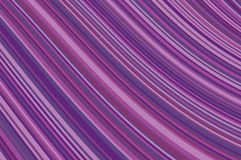 Abstract background with oblique wavy lines. Vector illustration. Different shades of purple, violet color. Abstract background with oblique wavy lines. Vector Royalty Free Stock Image
