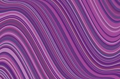 Abstract background with oblique wavy lines. Vector illustration. Different shades of purple, violet color. Abstract background with oblique wavy lines. Vector Stock Illustration
