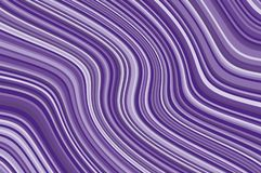 Abstract background with oblique wavy lines. Vector illustration. Violet, purple color Royalty Free Stock Image