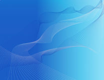 Free Abstract Background Of Blue Stripes In Space Royalty Free Stock Image - 5795866
