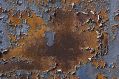 Free Abstract Background Of Rusty Iron Stock Photography - 8486802