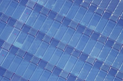 Abstract background. Office building facade. Abstract background. Office building facade with blue crystals Stock Photo