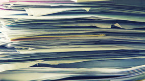 Abstract background of office documents Stock Photos