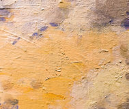 Abstract background of oil paint on canvas royalty free stock image