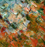 Abstract background, oil paints Royalty Free Stock Images