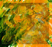 Abstract background, oil paints Stock Photo