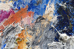 Abstract background of oil paints Royalty Free Stock Image