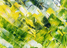 Abstract background, oil paints Stock Photos