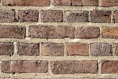 Abstract background - old brick wall stock photo