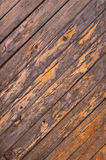 Abstract background old cracked diagonal wooden bars wall Stock Photos