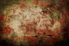 Abstract background old grunge painting sepia and black vignette. Reddisg grungy background or texture with dark vignette royalty free stock photo
