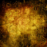 Abstract background with old torn posters Royalty Free Stock Photo