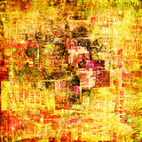Abstract background with old torn posters Royalty Free Stock Photography
