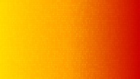 Abstract background of ones and zeros. Abstract background of zeros ad ones in yellow and orange colors royalty free illustration