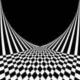 Abstract background in op art style. Royalty Free Stock Images
