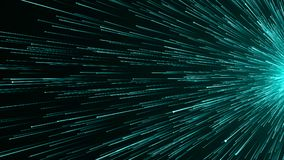 Abstract background with Optical fiber. 3d rendering Stock Photo