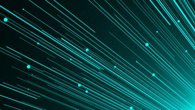 Abstract background with optical fiber. 3d rendering Royalty Free Stock Photography