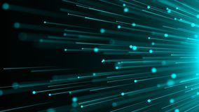 Abstract background with optical Fibers. Seamless loop Royalty Free Stock Images