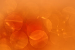 Abstract background in orange Stock Photo