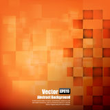 Abstract background orange with basic geometry element vector il. Lustration eps10 royalty free illustration