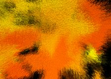 Abstract background in orange and black color. Abstract background in orange and black color - autumn night and Halloween impression royalty free illustration