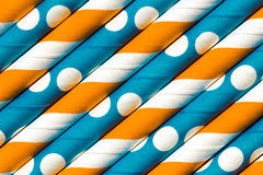 Abstract background orange blue pattern Stock Images