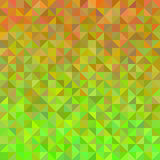 Abstract background in orange and green. Abstract background from triangles in orange and green Royalty Free Stock Image