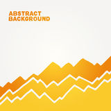 Abstract background. Orange handmade toothed background with white space around Vector Illustration