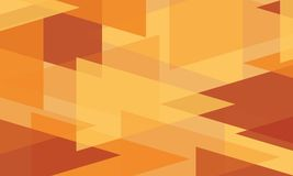 Abstract background orange modern wallpaper. Vector illustration Royalty Free Stock Photo