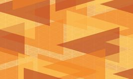 Abstract background orange modern wallpaper. Vector illustration Royalty Free Stock Images