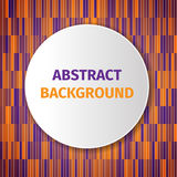 Abstract Background. Orange and purple modern abstract background, excellent vector illustration, EPS 10 Royalty Free Stock Photo