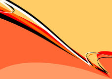 Abstract background orange-red-yellow Royalty Free Stock Photography