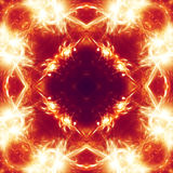 Abstract background orange star burst Royalty Free Stock Photography