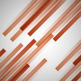 Abstract background with orange straight lines. Stock vector Stock Photography