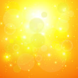 Abstract background. Abstract orange sunny background, vector illustration Royalty Free Illustration