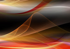 Abstract background orange wave Stock Photos