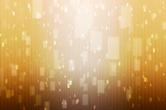 Abstract background with orange and white lights Royalty Free Stock Image