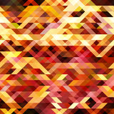 Abstract background. Abstract orange yellow black triangles Stock Images
