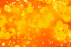 Abstract background. Orange and yellow circles abstract background Royalty Free Stock Photo