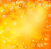 Abstract background. Orange and yellow circles abstract background Stock Images