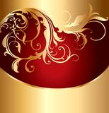 Abstract background with an ornament Royalty Free Stock Photography